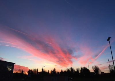 tramonto pisa