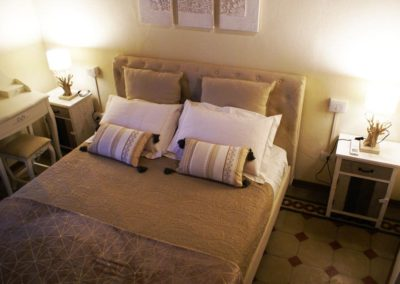 camera doppia del bed and breakfast in centro